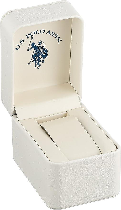Amazon.com: U.S. Polo Assn. Women's Quartz White Dress Watch (Model:  USC40091): Watches