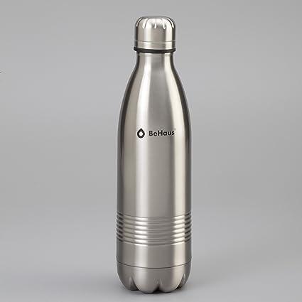 Botella BeHaus Líquidos Acero Inoxidable 500 ml.