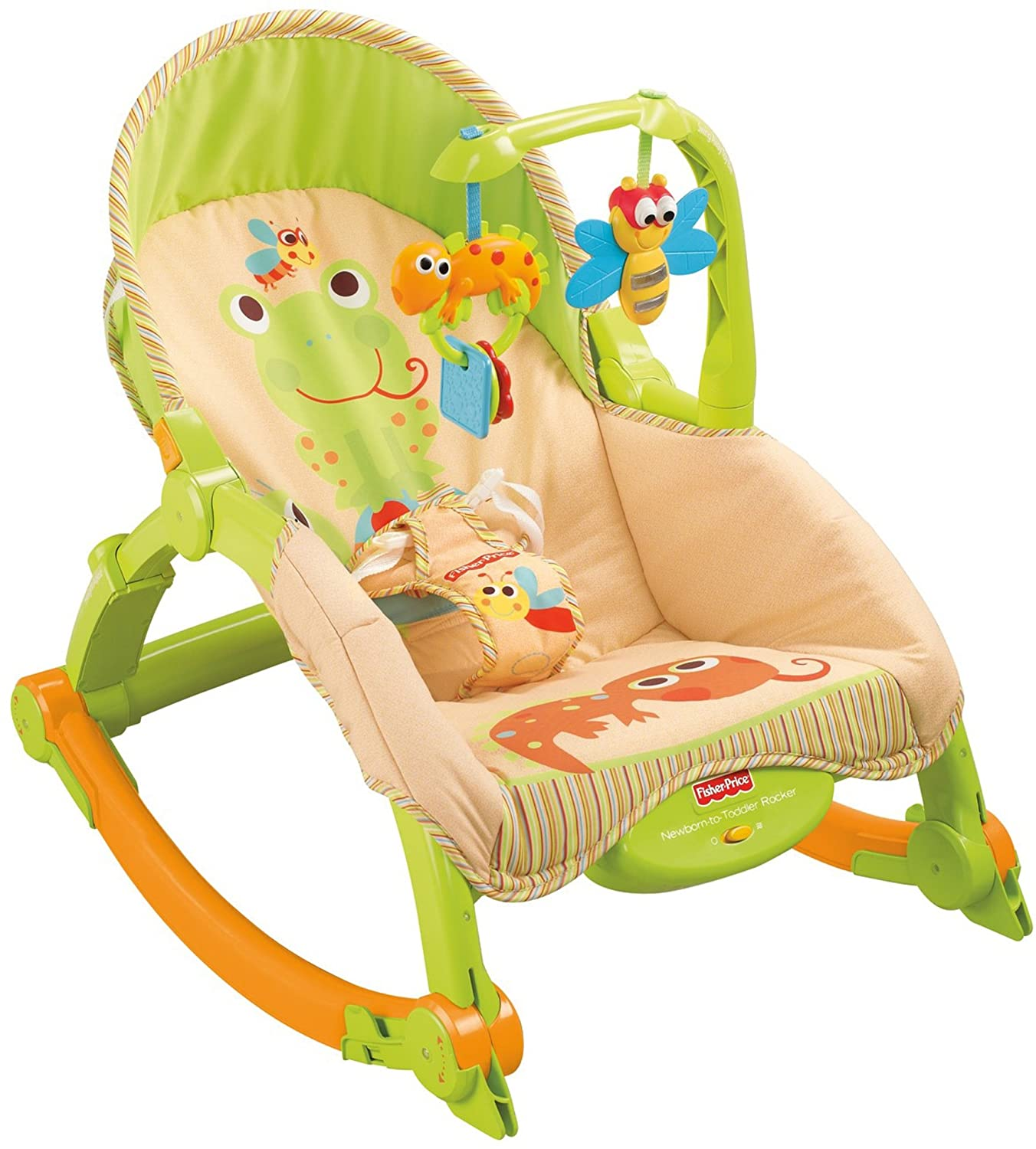 Amazon Fisher Price Newborn to Toddler Portable Rocker