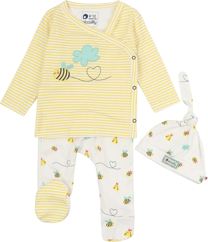 Baby 3-teiliges Set frei von Chemikalien unisex f/ür Jungen oder M/ädchen Bio-Baumwolle
