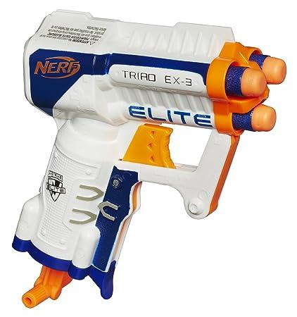 amazon com nerf n strike elite triad ex 3 toys games