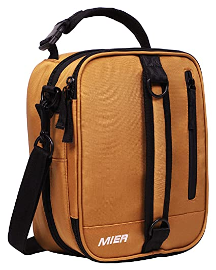 edd766d9101d Image Unavailable. Image not available for. Color  MIER Insulated Lunch Box  Bag Expandable Lunch Pack for Men