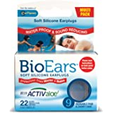 BioEars Soft Silicone Earplugs Multi Pack