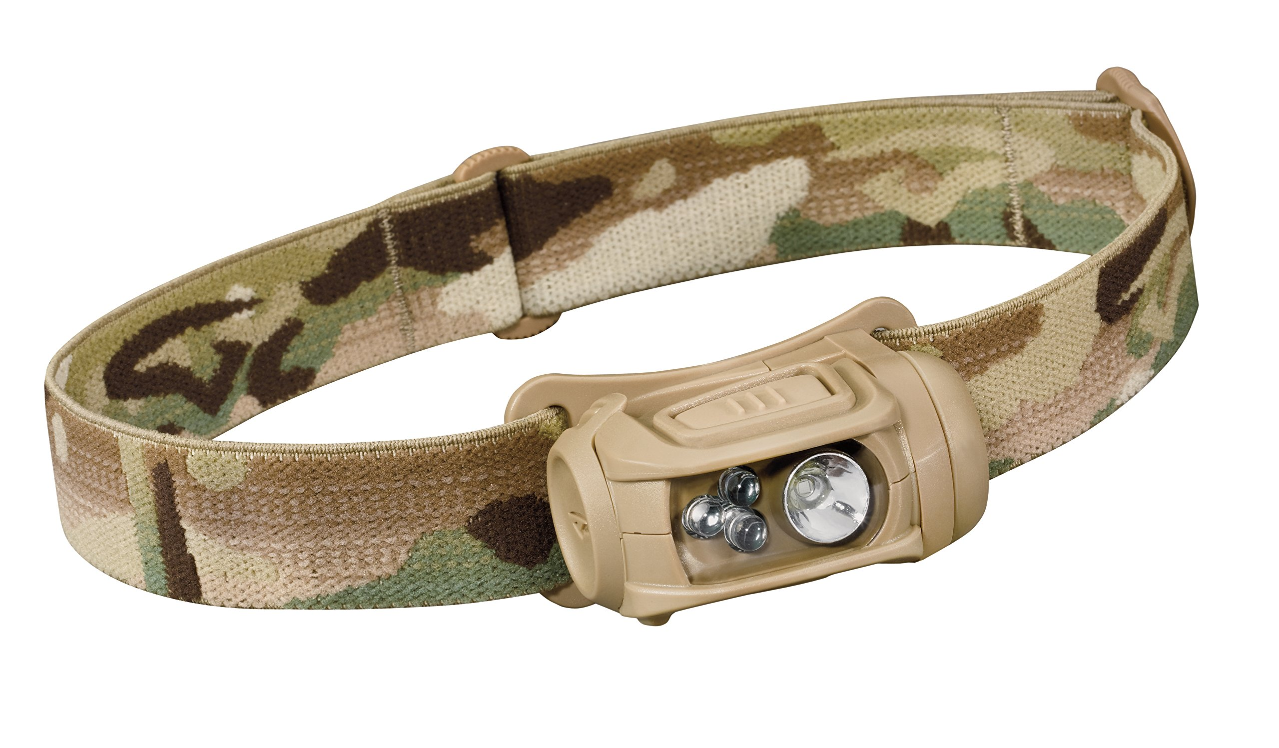 Princeton Tec Remix LED Headlamp (300 Lumens, Multicam w/Red, Green and Blue LEDs)