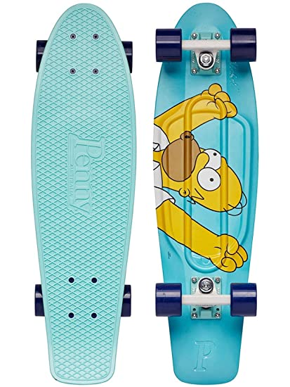 amazon com penny board 27 inch homer simpson complete sports