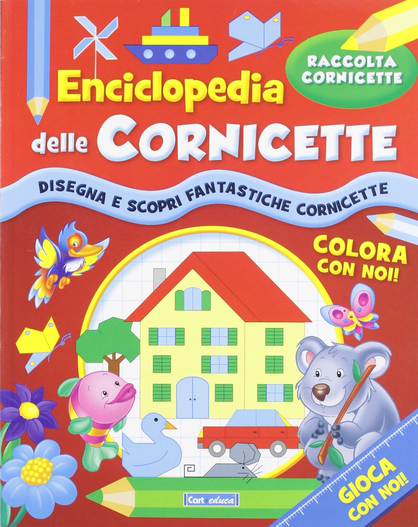 Enciclopedia delle cornicette: 9788863093087: Amazon.com: Books