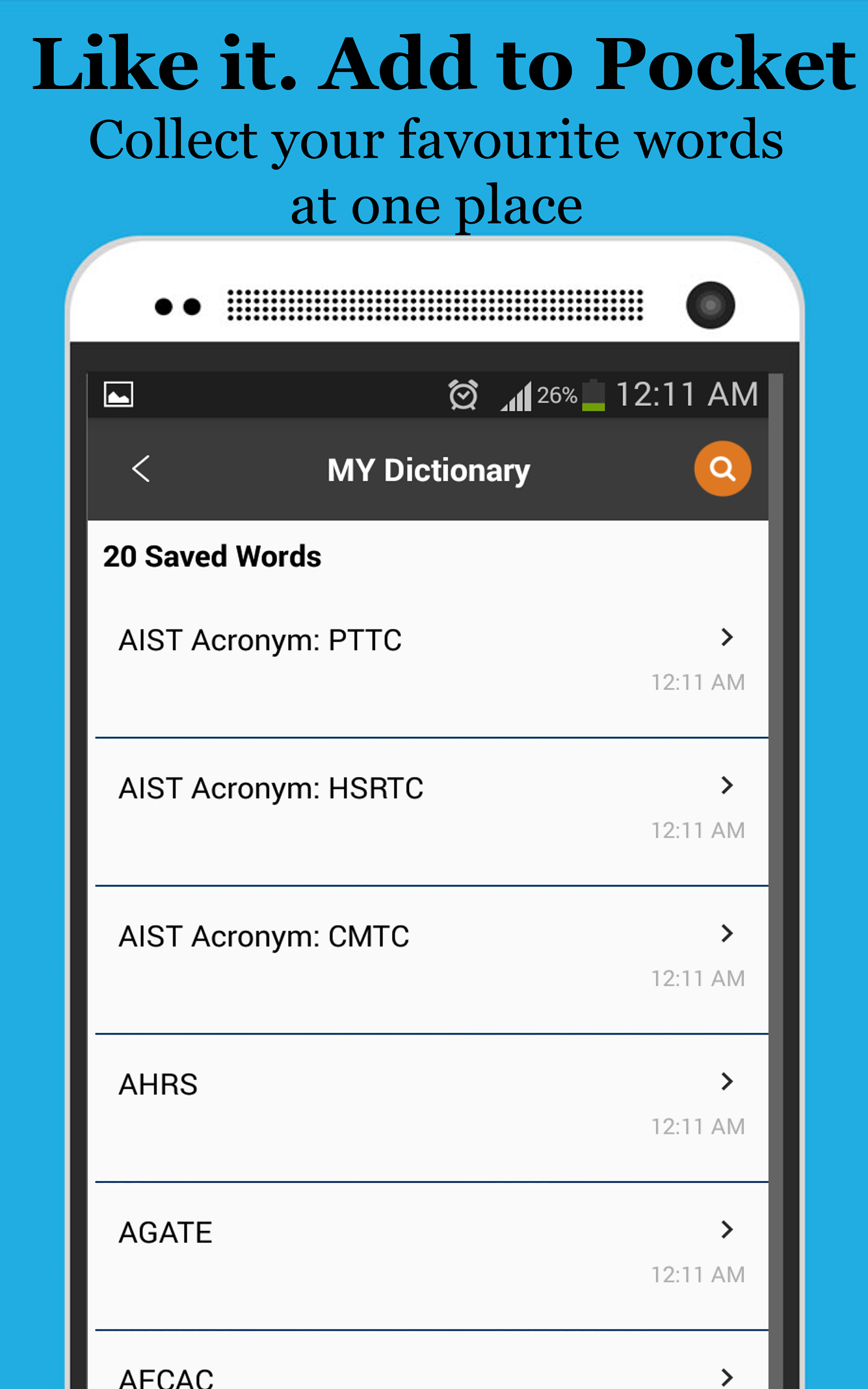 amazon com full forms dictionary appstore for android
