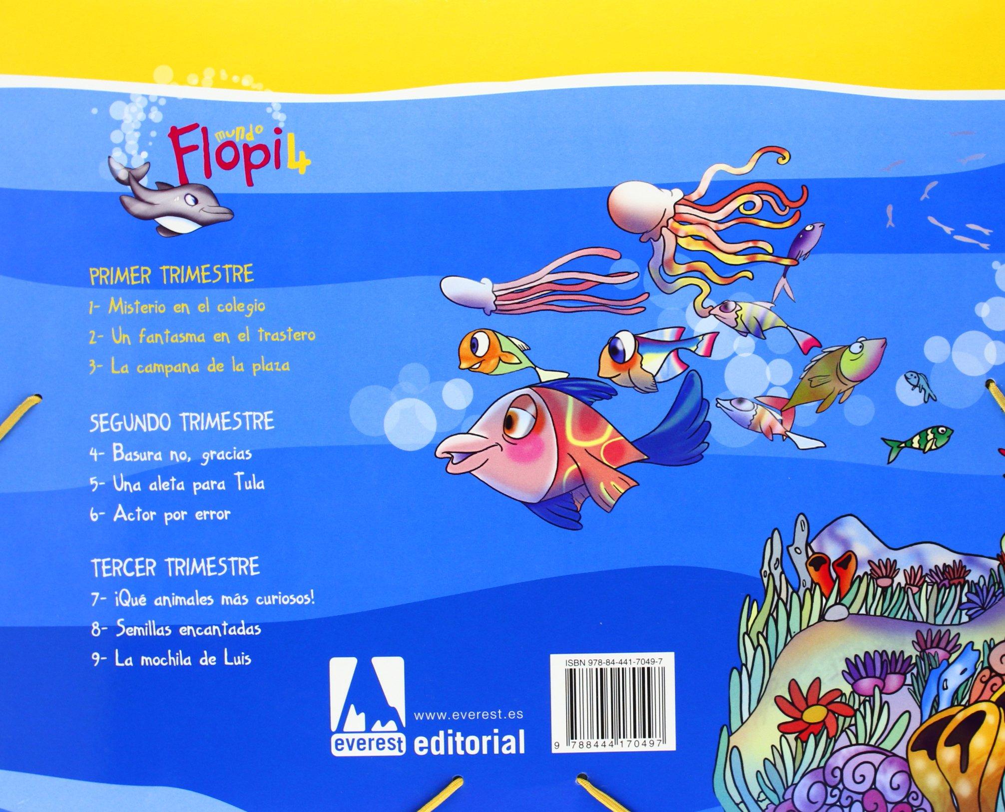 Mundo Flopi, Educación Infantil, 4 años. 1 trimestre: Carmen Calvo Rojo, Ana María Díez Torío, Aurora Estébanez Estébanez: 9788444170497: Amazon.com: Books