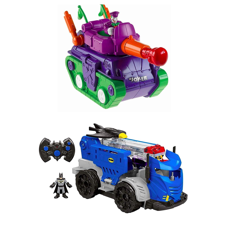 Fisher Price Imaginext DC Super Friends Batman The Joker Tank Vehicle
