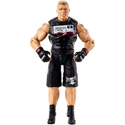 WWE Brock Lesnar Action Figure: Toys & Games