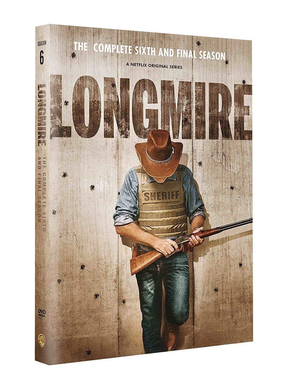 Longmire Season 6 (DVD, 3-disc Set) Fast and Free Next Day Shipping