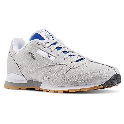 ed81e53b8e7 Reebok x Kendrick Lamar Big Kids Classic Leather (Gray Skull  Grey Collegiate Royal