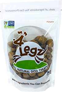 4Legz Organic All Natural Crunchy Non-GMO Dog Treats
