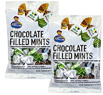 SweetGourmet Arcor Chocolate Filled Mint (Pack of 2 X 5oz)
