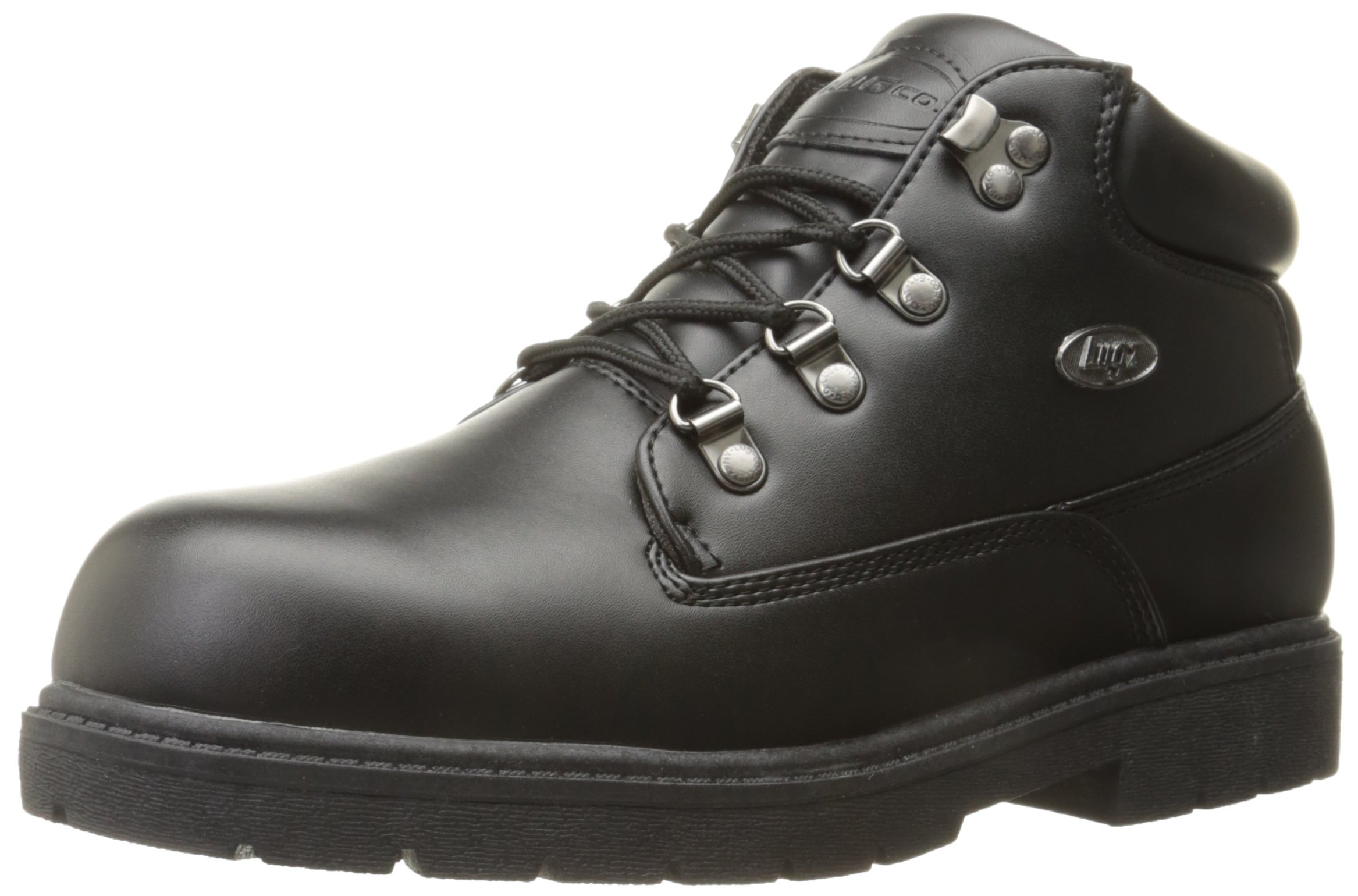 Lugz Men's Cargo Fashion Sneaker, Black Smooth, 9 D