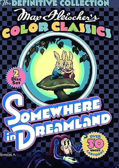 Amazon Max Fleischers Color Classics Somewhere In Dreamland
