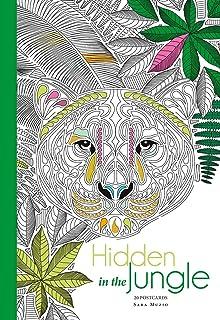 Hidden In The Jungle 20 Postcards
