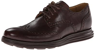 Cole Haan Men's Lunargrand Wing Tip Oxford,T.Moro,7 ...