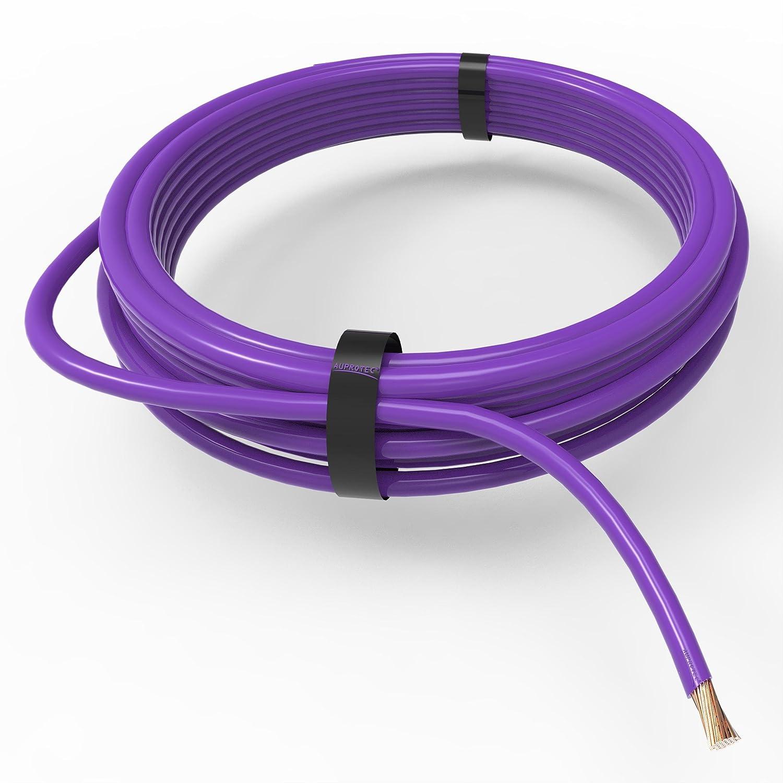 violetto Auprotec/® Cavo unipolare 0.5 mm/² FLRY-B Filo elettrico ad anello 5m