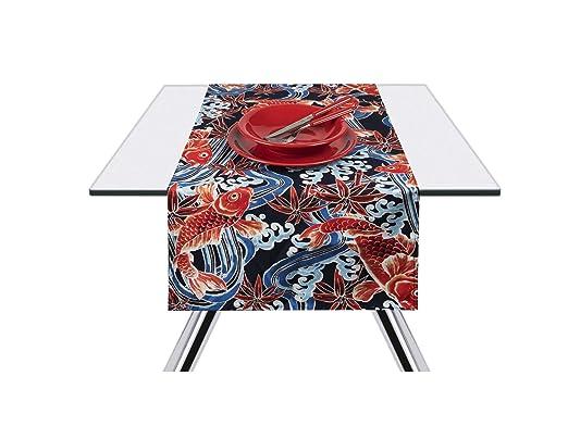 Excelsa Kimono Carpe - Camino de Mesa, 100% algodón, 45 x 140 cm ...