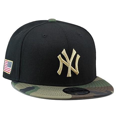 1d96d317555 Amazon.com   New Era 9fifty New York Yankees Snapback Hat Cap Black ...