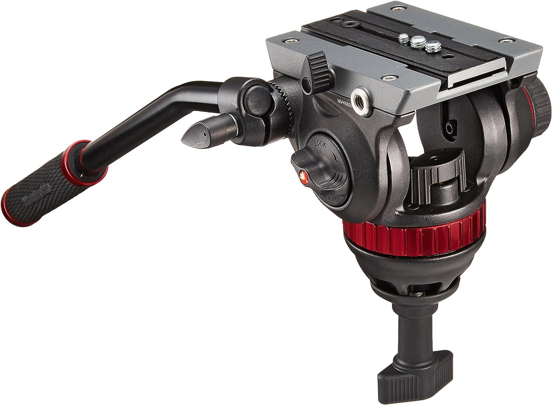Manfrotto MVH502A - Rótula fluida de vídeo para trípode ...