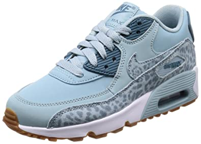 detailed look 1639a ea4bf Nike Air Max 90 LTR Se GG, Chaussures de Gymnastique Fille, Bleu (Ocean