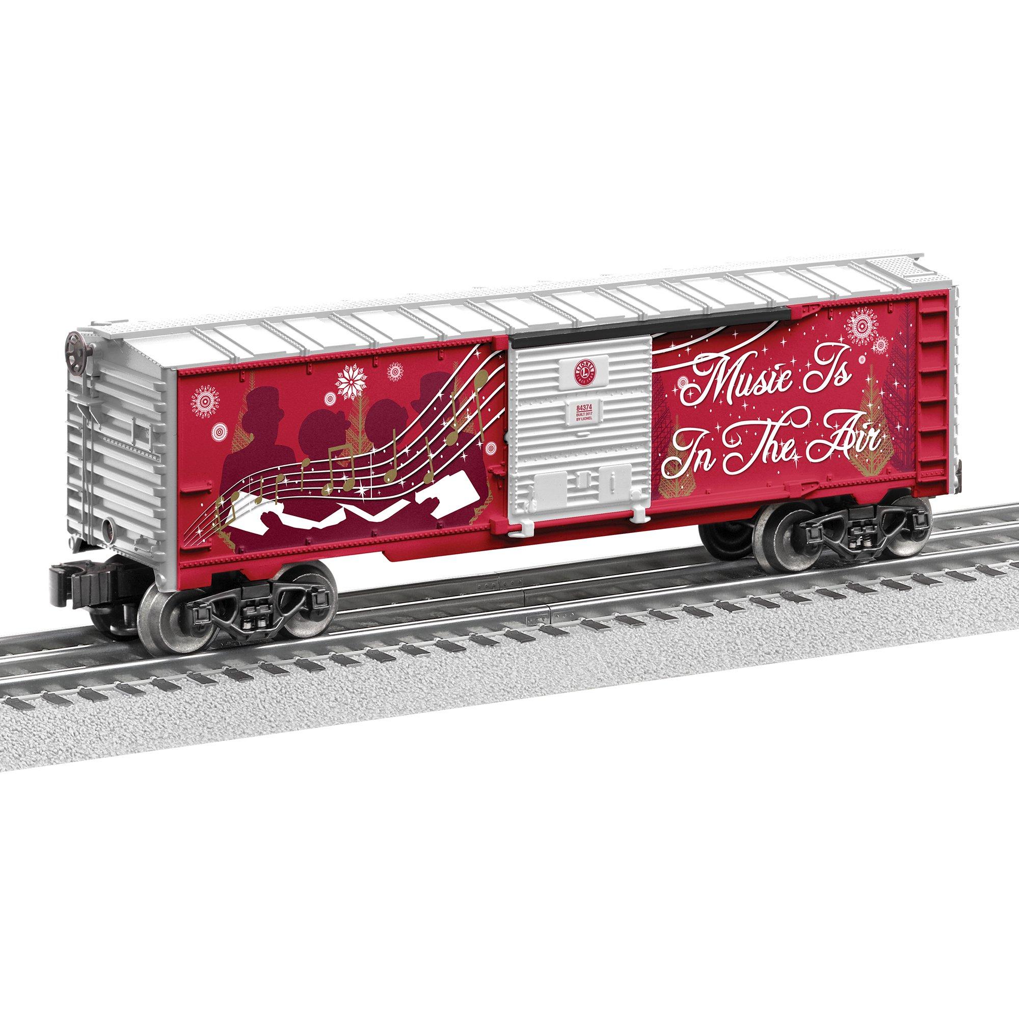 Lionel 2017 Christmas Music Boxcar Train