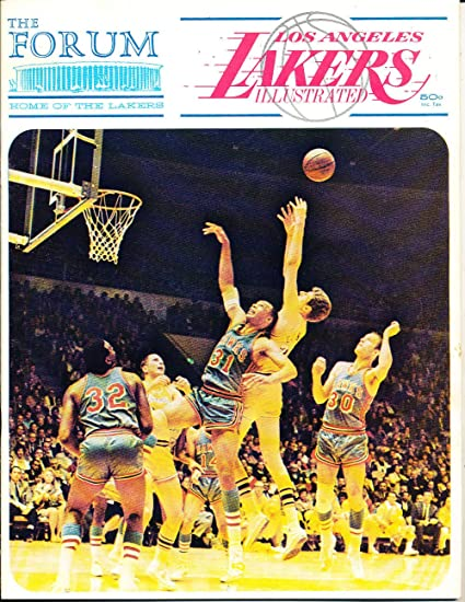 Dec 13 1968 Los Angeles Lakers Vs Atlanta Hawks Nba Program