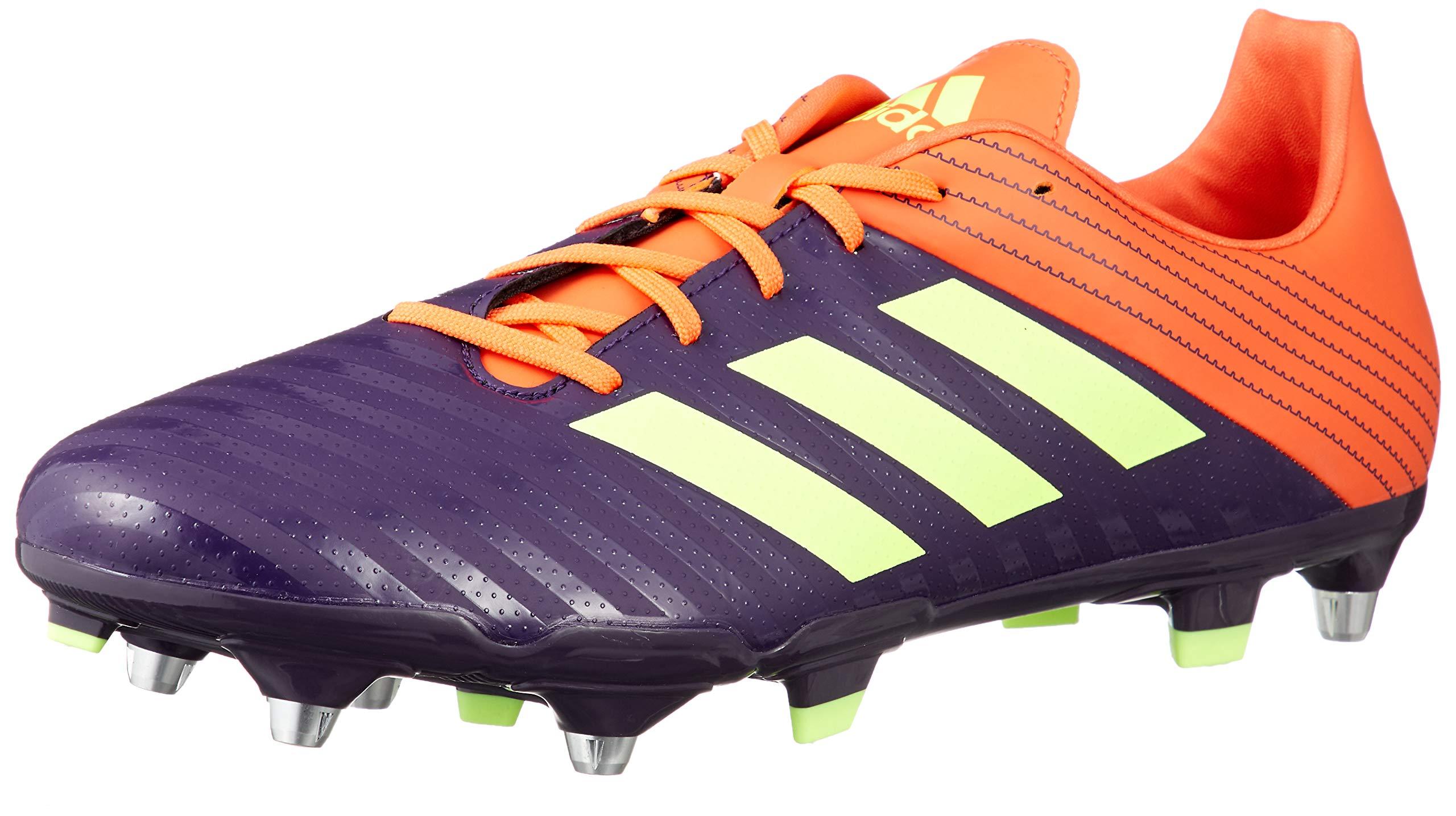 adidas Malice SG Rugby Boots, Orange (US 13.5) by adidas