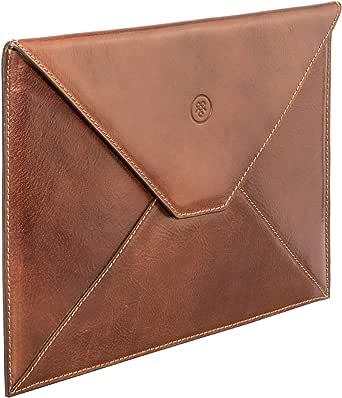 Maxwell-Scott® Great British Design, Luxury Handmade Italian Full Grain Leather IPad/Samsung Tablet Case (The Ettore)