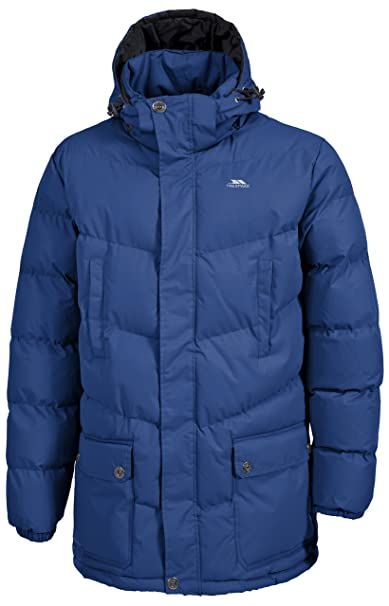 Trespass Cumulus Mens Padded Casual Jacket Warm Winter Coat with Hood at Amazon Mens Clothing store: