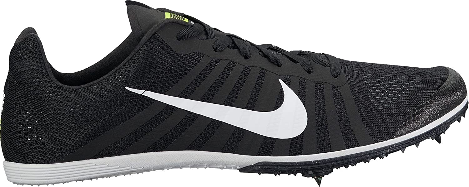 Nike Zoom D Distance Track Spikes Mens Size 11.5 Black, White