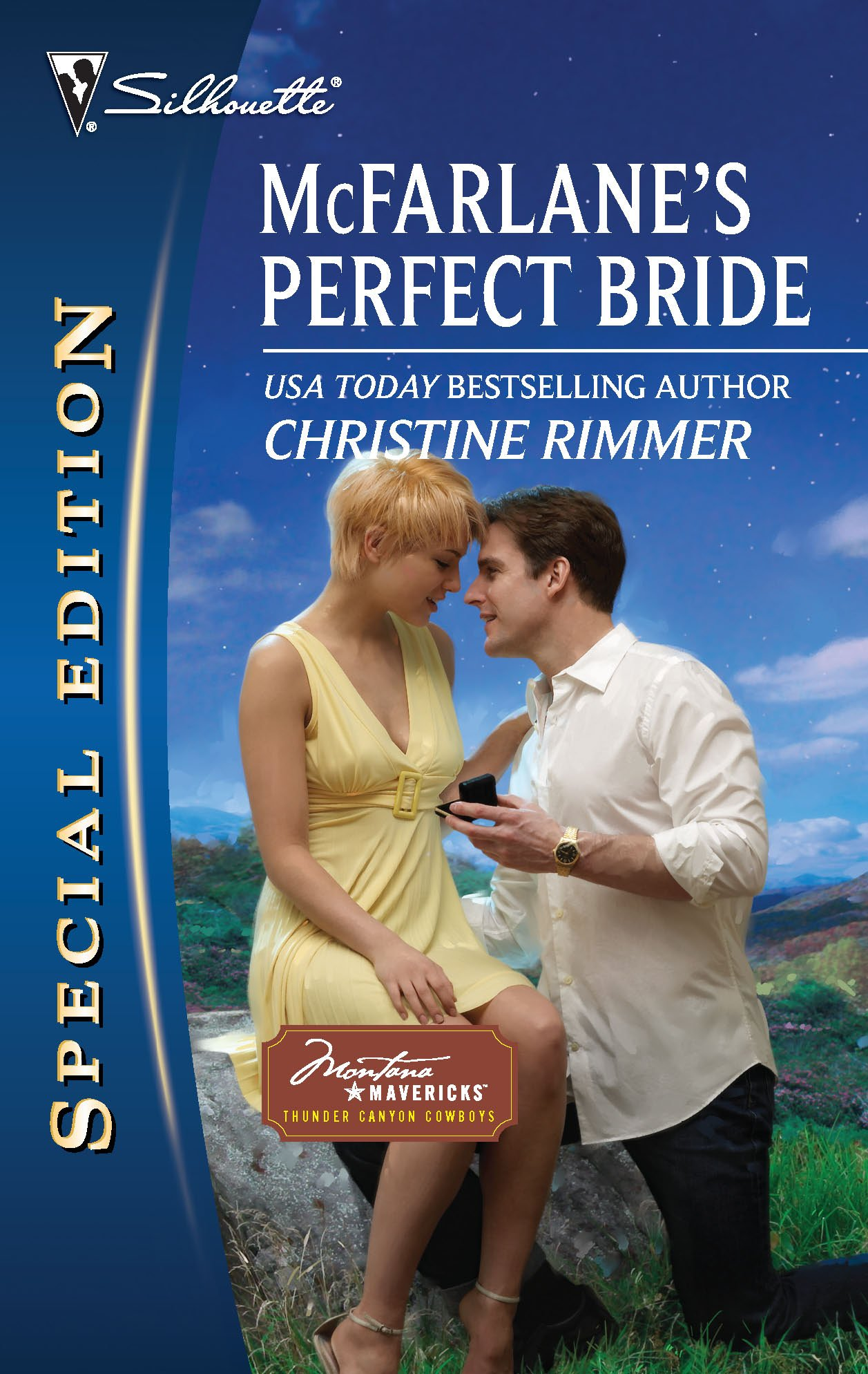 Download McFarlane's Perfect Bride (Montana Mavericks: Thunder Canyon Cowboys) PDF