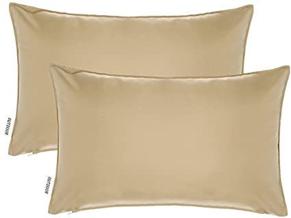 "2-Piece 12"" x 18"" Outdoor Patio Furniture Lumbar Pillow Cushion  Cover with - Amazon.com : 2-Piece 12"