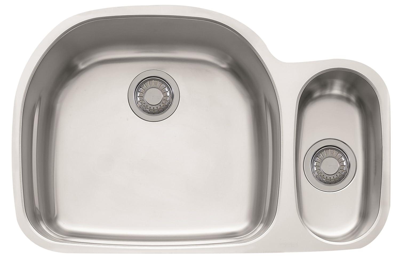 Franke Prestige Undermount Dual Bowl Stainless Steel Kitchen ...