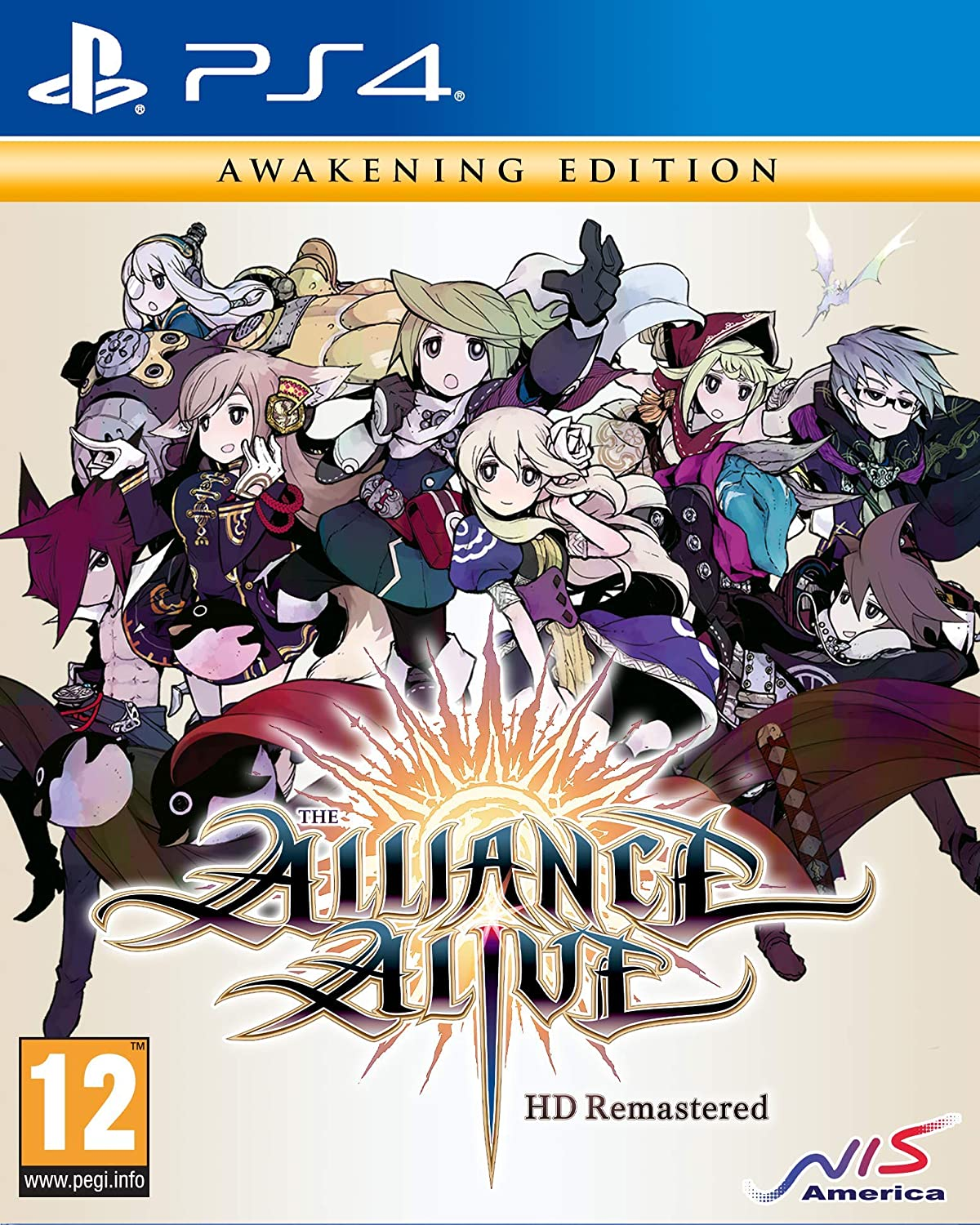 The Alliance Alive HD Remastered (Awakening Edition) (PS4)