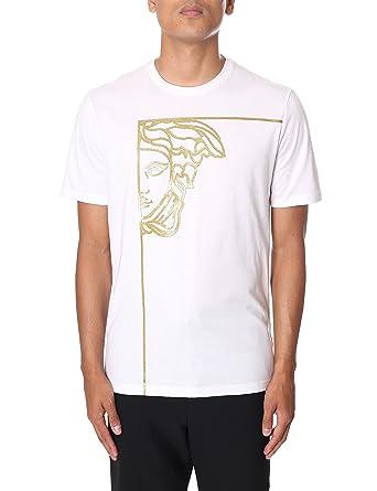 Versace Collection - T-Shirt - Homme - Blanc - XX-Large  Amazon.fr   Vêtements et accessoires ea79b0dcaac