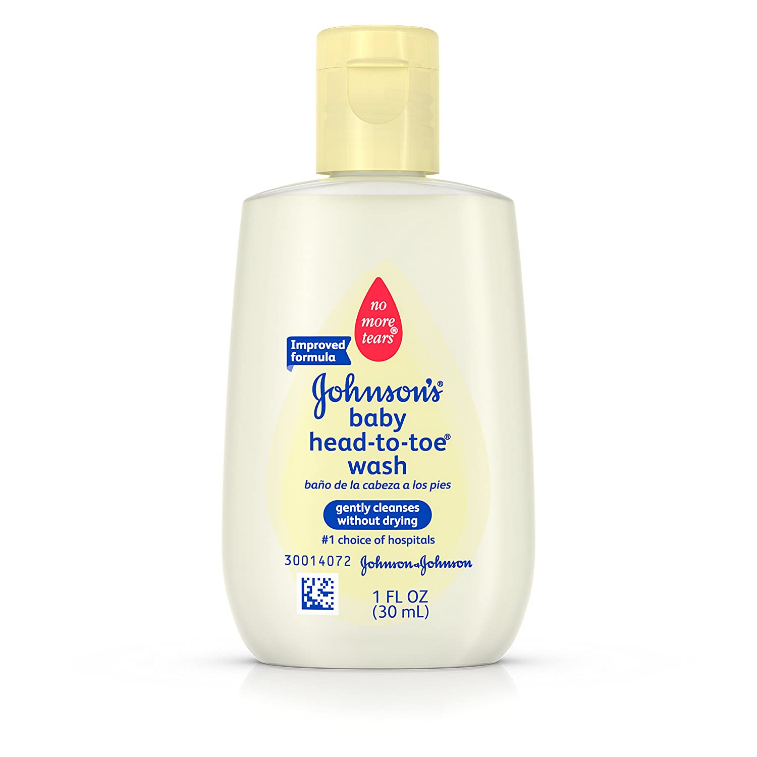 Johnson's Head-To-Toe Baby Wash, Gentle Cleanser, 15 Fl. Oz. (Pack of 2) Johnson' s Baby 15493601