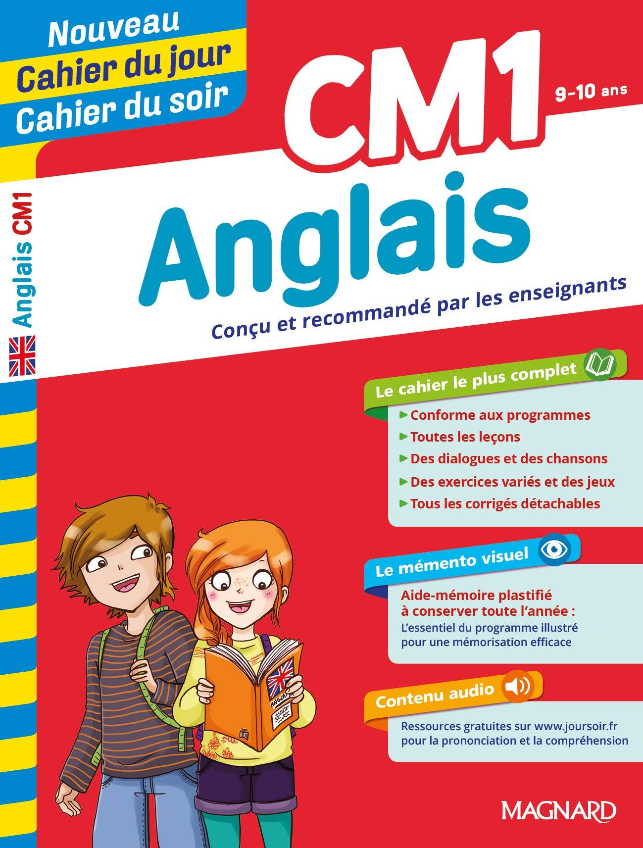 Cm1 Anglais Cahier Du Jour Cahier Du Soi Ɯ¬ ɀšè²© Amazon