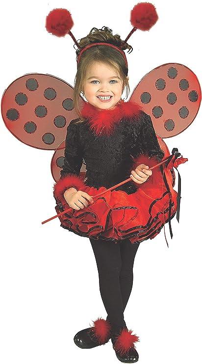Ladybug Kids Fancy Dress Ladybird Animal Insect Bug Boys Girls Childs Costume