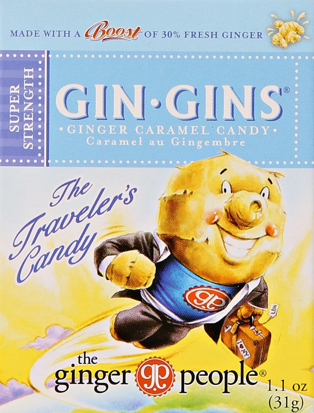 GINGER PEOPLE GIN GIN BOOST TRVL