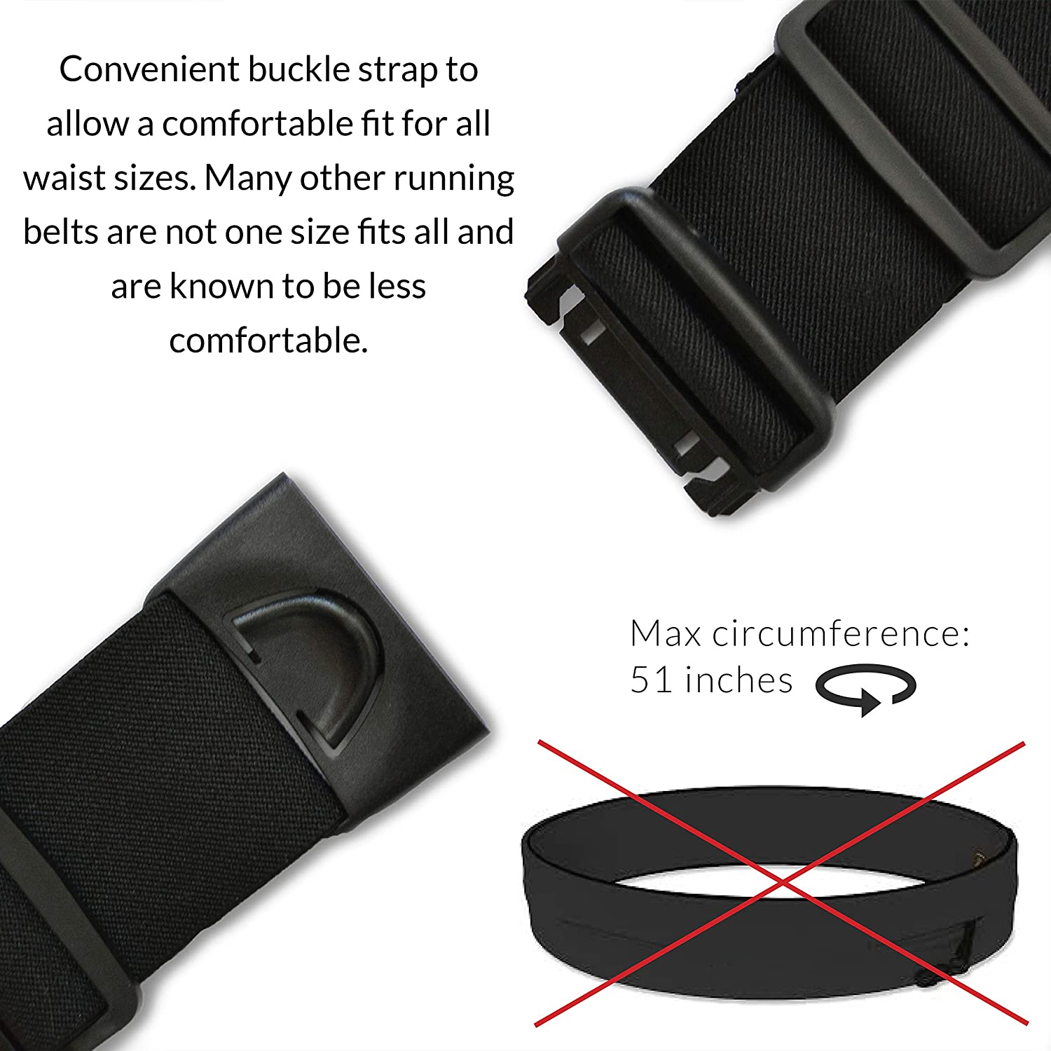 f53e72f1d17 E Tronic Edge Running Belts : Best Comfortable Running Belts That Fit All  Phone Models and Fit All Waist Sizes. for Running, Workouts, Cycling, ...