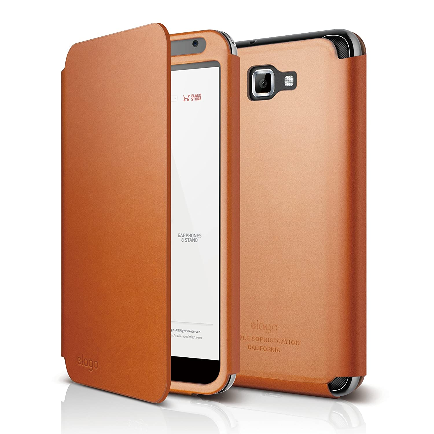 Amazon.com: elago G4 Handmade Genuine Leather for at&t ...