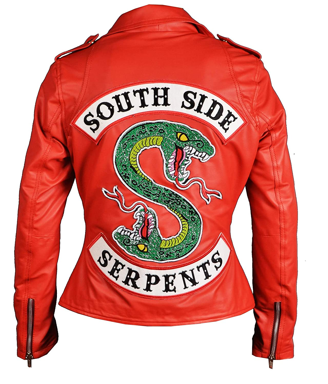Leather Jacket Seller Girls Riverdale Southside Serpents