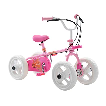 Amazon Com Quadrabyke Kiss Kid S Cycle 10 Inch Wheels 2 3 Or 4
