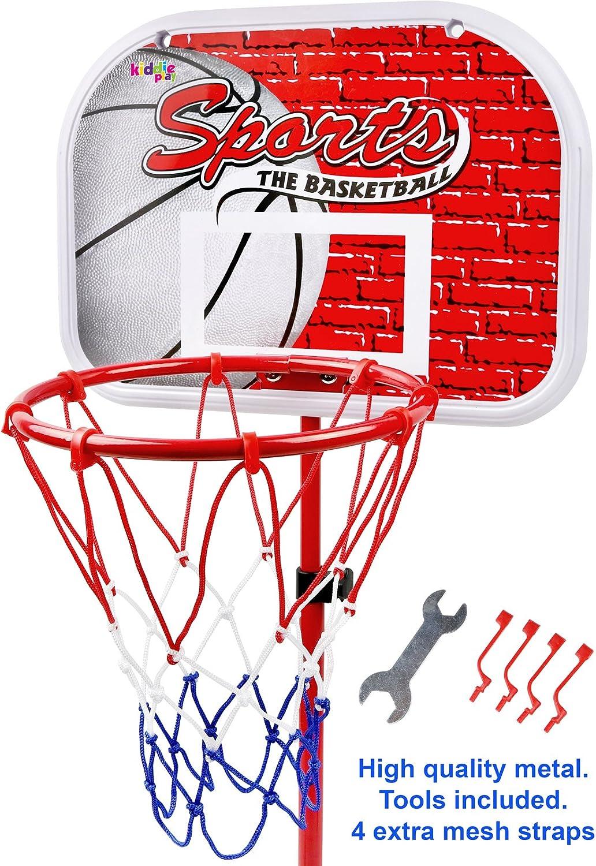 Amazon.com: Kiddie Play de baloncesto con soporte juguete ...