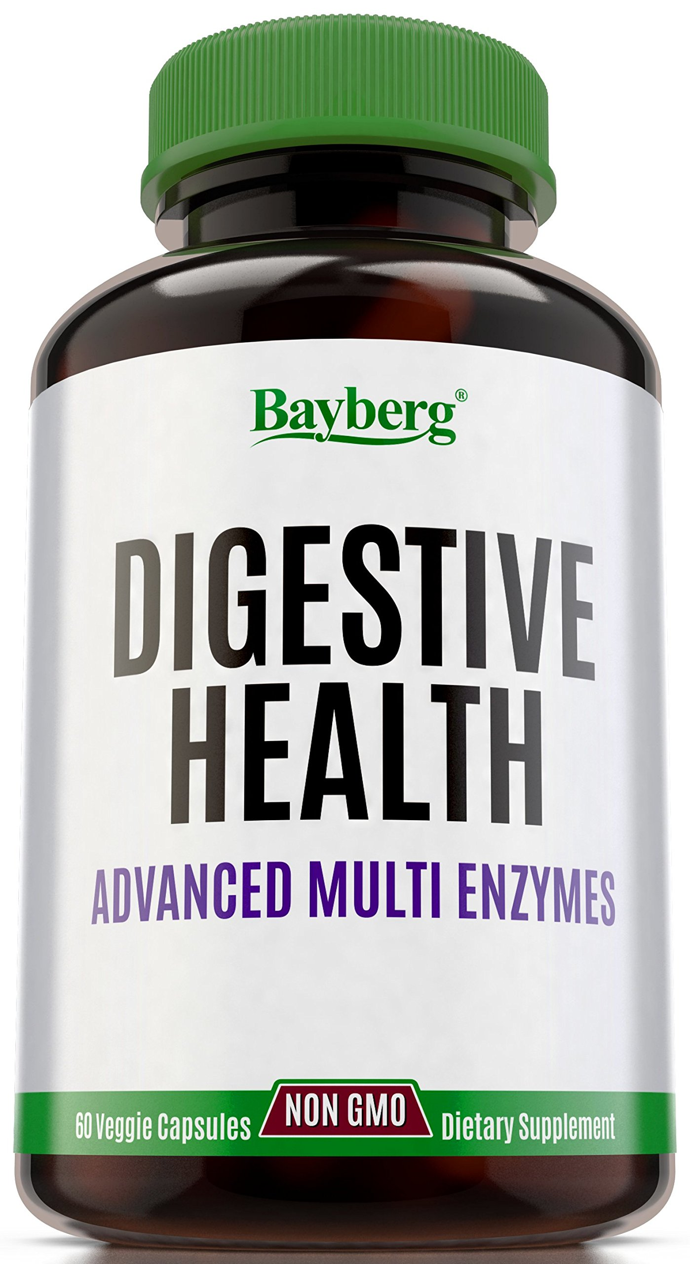 Digestive Enzymes Capsules, Natural Prebiotic Boost & Probiotic Balance. Digestive Health Supplement, Bloating & Gas Relief. Multi-Enzyme Complex, Intestinal + Stomach Aid for Gluten and Lactose