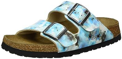 7cc0b40b4131d Papillio Women s Arizona Soft Footbed Sandals150  Narrow Width Pixel UK 3.5  Blue