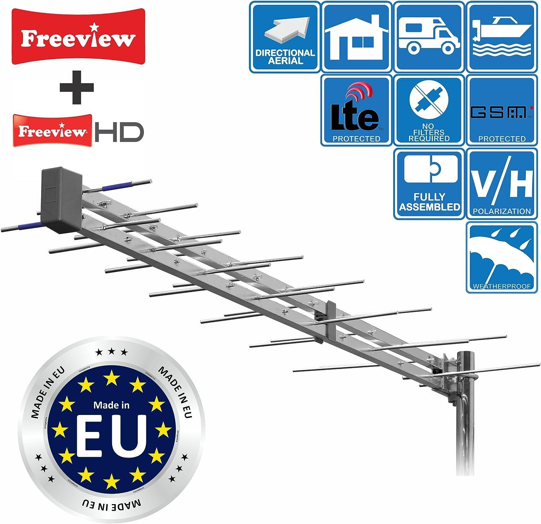 Antena de TV digital HD
